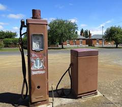 Fuel Bowsers, Bothwell TAS (InTheBush*) Tags: bowser pump tasmania neptune fuel bothwell