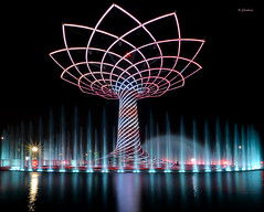 Albero della VIta (7) - EXPO 2015 - Milano (G.hostbuster (Gigi)) Tags: milan night lights fountains ghostbuster alberodellavita expo2015 gigi49