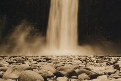 Abiqua Falls 1, 2015 (Sara J. Lynch) Tags: white black lynch film oregon 35mm j waterfall sara asahi pentax k1000 falls mills scotts abiqua