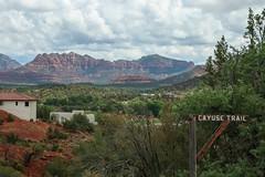 Sedona, Arizona (BIGGZ3579) Tags: arizona mountains nature america sedona redrock cloudporn redrockmountains cayusetrail