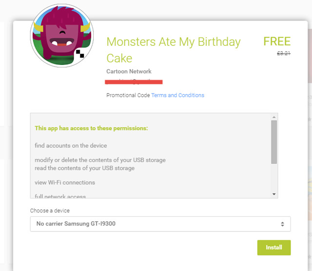 Play Store Free Apps of the week - Monsters Ate My Birthday Cake