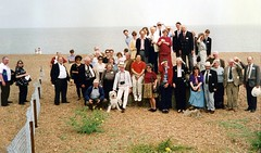 The party at Bawdsey (photo by Tony Marshall)