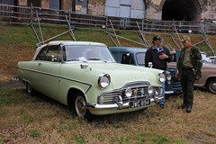1962 Ford Zodiac convertible (Davydutchy) Tags: uk greatbritain england classic ford car fort rally victorian july convertible oldtimer register zodiac annual truk fortress cabrio essex southend burg engeland tatra kasteel cabriolet basildon burcht 2015 coalhouse