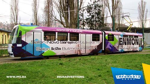 Info Media Group - Enmon, BUS Outdoor Advertising, Sarajevo 04-2015 (1)