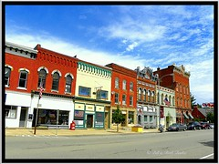 Cuba ~  New York ~ Main St Historic District (Onasill ~ Bill Badzo) Tags: cuba village hall newyork ny alleganycounty historic main street district architecture italinate sky clouds st nrhp onasill canon attractionsite garlic festival style