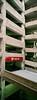 Nashville (bior) Tags: nashville tennessee fujifilmproplusii proplusii fujiproplus xpan xpanii hasselbladxpanii hasselblad parkinggarage verticalpanorama