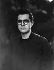 Henrik Ferrara (Vitria Menezes) Tags: portrait blackandwhite bw nikon fm2 50mm 18 kodak tmax 100