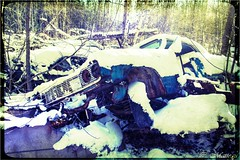 161123-53 Crap! (clamato39) Tags: carwreck carcemetery cargraveyard cars cimetièredautos oldcars old ancient vieux stamable provincedequébec québec canada