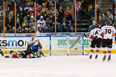 "Missouri Mavericks vs. Wichita Thunder, January 7, 2017, Silverstein Eye Centers Arena, Independence, Missouri.  Photo: John Howe / Howe Creative Photography • <a style=""font-size:0.8em;"" href=""http://www.flickr.com/photos/134016632@N02/31438175323/"" target=""_blank"">View on Flickr</a>"