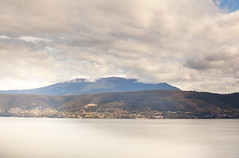 View of Mount Wellington from South Arm