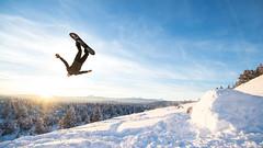 Pilot Butte (wrightsa867) Tags: bend snowbaording oregon backflip sunset winter