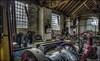 Ironbridge Machine Shop 5 (Darwinsgift) Tags: ironbridge museum blists hill victorian town village machine shop antique old olden days hdr photomatix nikon d810 nikkor 20mm afs f18 ed g