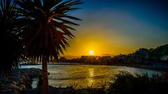 Atardecer en Banús (pepoexpress - A few million thanks!) Tags: nikon nikond600 d600 d60024120 d61024120mmf4 24120f4 24120mmafs pepoexpress sunrise sun sky skyline landscape puertobanús puertadelsol sea silueta silhouette