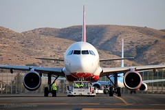 push forward (Montserrat Pin - Aire.org) Tags: asociaciónaire alicante spotterday spotting spotters alc leal aena aeropuerto airberlin