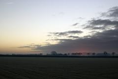 Frosty dawn (Martijn A) Tags: dawn sunrise zonsopgang dageraad frosty vriespunt cold koud ice ijs sky lucht sun zon nature natuur farmland boerenland gelderland guelders geldermalsen canon d550 dslr 35mm lens wwwgevoeligeplatennl