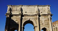 Attic, Arch of Constantine (south) (profzucker) Tags: rome ancientrome constantine arch triumphalarch roman spolia hadrian marcusaurelius archofconstantine archcon 4thcentury 315