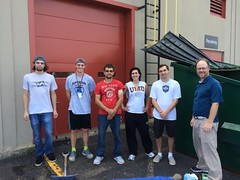 Many THANKS to the Waste Audit team from NRRI -Summer 2016 (umdsustain) Tags: wasteaudit trashaudit custodial umd recycling composting