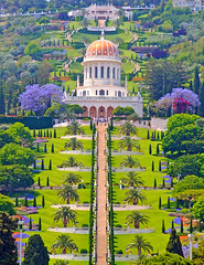 thegryphonsnest: Bahai Temple & Gardens, Haifa Israel (moodydose) Tags: architecture baha bahai bahaulla bahaullah building cascade colorful dome faith garden god green haifa headquarters hill holy immaculate israel manicured monument order ornate palestine palms park persian pray religion sacred saint sanctuary step structure sublime symmetric temple terrace terraced tour tourism travel vacation water white worship