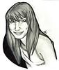 Arianne (Niluna nisol) Tags: chica lápiz pencil drawing dibujo retrato portrait girl ilustración illustration niluna nisol
