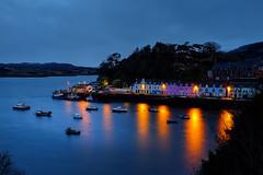 Portree – Fuji X100s (magnus.joensson) Tags: scotland skye portree blue hour boat dock harbour fuji x100s digital