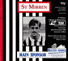 St Mirren vs Heart Of Midlothian - 1989 - Cover Page (The Sky Strikers) Tags: st mirren heart of midlothian hearts love street bq scottish premier league official match magazine 80p