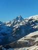 il Cervino (daniele ideale costanzo) Tags: montagna mountain valledaosta champlouc neve landscape cervino paesaggio alpi italia white blu sky cielo danielecostanzo