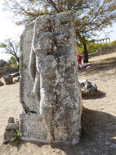 Uzuncaburc sarcophagus lid