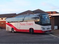 Nova Tours NT65NTL Alfreton (Guy Arab UF) Tags: nova tours chesterfield nt65ntl vdl hhd2122 futura coach alfreton bus station derbyshire independents buses