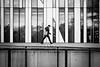 dots 'n' stripes (P. Zimmer) Tags: sw bw schwarzweiss blackandwhite urban stadt street people dots punkte streifen stripes fujixpro2 reflection spiegelung noiretblanc