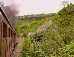 In the Esk Valley (Chris Baines) Tags: wcr 47832 single track glaisdale grosmont srps charter gurrock whitby