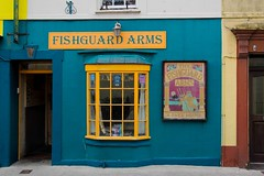 The Fishguard Arms (From Elsewhere) Tags: pembrokeshire wales sunset countryside water boat uk travel coast walk heather trek village villagelife buildings cathedral stdavids fishingboat