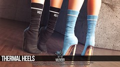 [VALE KOER] THERMAL HEELS (VALE KOER) Tags: vk vale koer valekoer second life sl secondlife n21 thermal heels shoes boots mesh 3d