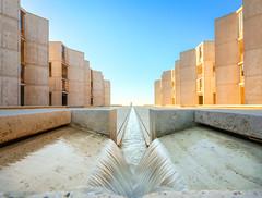 salk institute fountain (Chimay Bleue) Tags: salk institute fountain orange grove architecture la jolla san diego sandiego design concrete brutalist brutalism