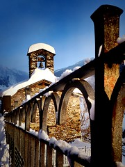 Ermita de Ransol (carolinatfe) Tags: snow nieve fz200 panasonic lumix