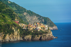 5 Terre - Liguria (Elisa Gabbrielleschi) Tags: cinqueterre mare costa scogli terra liguria paesaggio landescape hello helloelisagabriel elisagabbrielleschi colori colors nikond7100 nikon