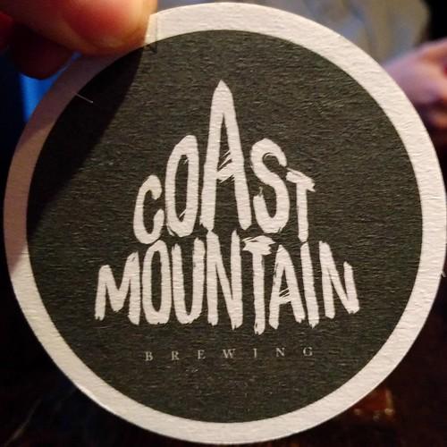 Coast Mountain Brewing coaster