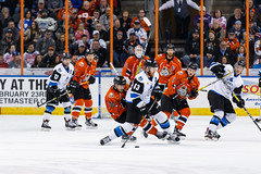 "Missouri Mavericks vs. Wichita Thunder, February 4, 2017, Silverstein Eye Centers Arena, Independence, Missouri.  Photo: John Howe / Howe Creative Photography • <a style=""font-size:0.8em;"" href=""http://www.flickr.com/photos/134016632@N02/32753144995/"" target=""_blank"">View on Flickr</a>"
