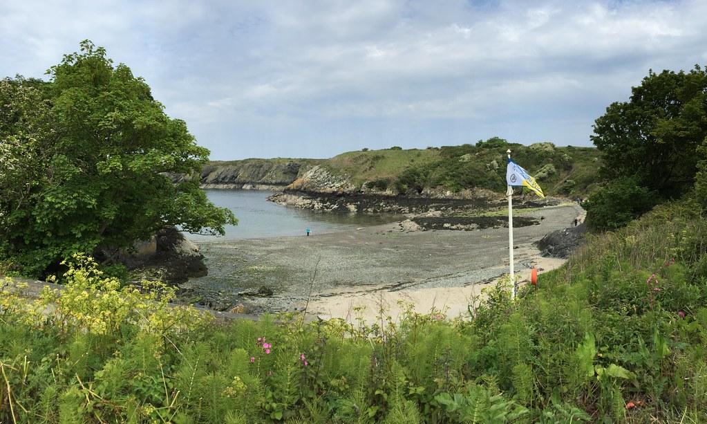 Llaneilian beach, Anglesey.