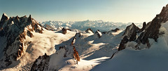 Mont Blanc range - panoramic view - Chamonix (Katarina 2353) Tags: desktop travel winter shadow wallpaper vacation panorama mountain snow france alps fall film analog landscape photo nikon image outdoor snowy range chamonix montblanc photogaphy katarinastefanovic katarina2353