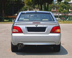 2004 Proton Waja 1.6 AT (ENH) in Ipoh, MY (21, Exterior) (Aero7MY) Tags: 2004 car sedan malaysia 16 saloon ipoh enhanced proton enh waja 16l 4door impian at 4g18