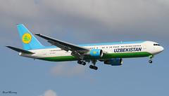 Uzbekistan Airways 767-300(ER) VP-BUE (birrlad) Tags: turkey airplane airport ataturk aircraft aviation airplanes istanbul landing international finals airline boeing arrival airways approach airlines uzbekistan ist runway airliner 767 tashkent arriving b767 767300er b763 76733per vpbue