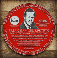 Epstein's Guest House (ColGould) Tags: plaque liverpool john paul hotel george beatles ringo guesthouse anfield beatlemania merseybeat brianepstein