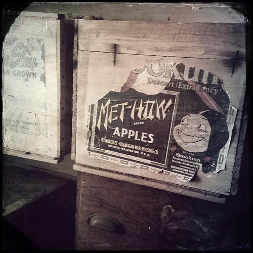 HipstaPrint Met-How Apples, General Store