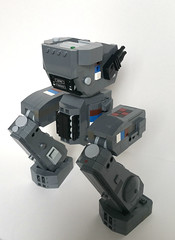 Hind Quarters (Piece of Slice) Tags: dawn lego legs walker scifi forge mecha mech