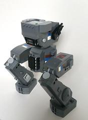 Hind Quarters (Piece of Slice) Tags: dawn lego legs walker scifi forge mecha mech