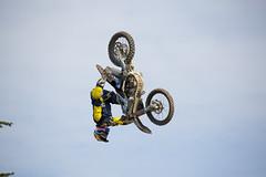 Gas Arena best trick (lewis wilson) Tags: england jump freestyle husky flip dirtbike trick fos mx goodwood motorcross husqvarna festivalofspeed goodwoodfestivalofspeed