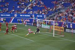 Goal: Red Bulls 1-0 Real Salt Lake (johnruscombe1965) Tags: usa sport football newjersey goal harrison stadium soccer unitedstatesofamerica nj match score footy realsaltlake sportingevent newyorkredbulls nickrimando redbullarena mikegrella