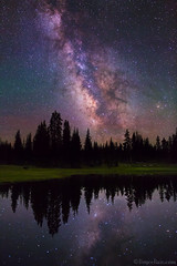 "Milky Way over alpine lake (IronRodArt - Royce Bair (""Star Shooter"")) Tags: nightphotography lake stars utah uintas nightscape alpine nightsky universe alpinelake starrynight milkyway highuintas highuintaswilderness starrynightsky"
