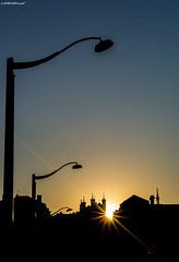 Solar geometry (Stphane NinO) Tags: street urban sun france architecture photography lyon pentax ombre k5 fourvire