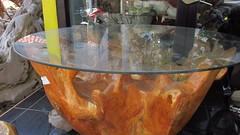 TEAK ROOT COFFE TABLE FROM BLORA,  iNdonesia meja jamuan minum kopi terbuat dari akar kayu jati yg berasal dari blora. indonesia (kayreal) Tags: handycraft jati akar blora kerajinan gembol tunggak akarkayujati